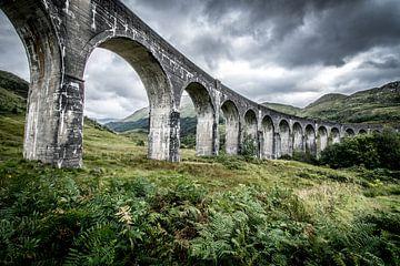 Schottisches Glenfinnan-Viadukt von Kim van Dijk