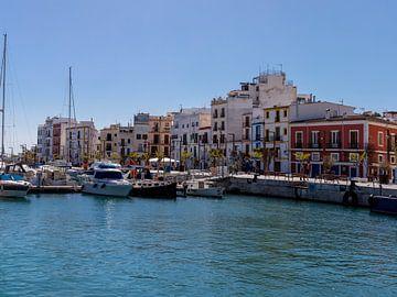 Yachthafen von Ibiza Stadt von Alexander Wolff