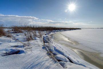 IJs op het Lauwersmeer. von Marnefoto .nl