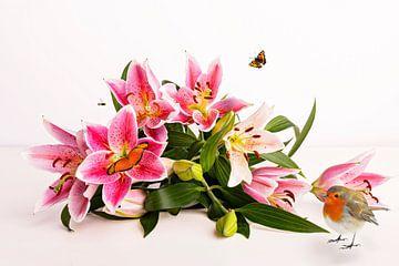Lelies met extra's van Anouschka Hendriks