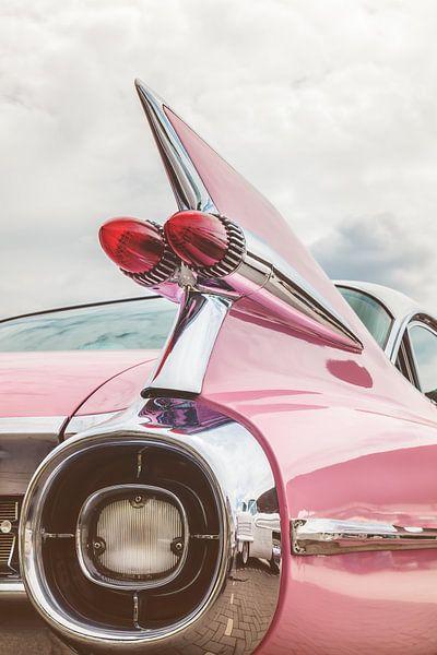 De pink Cadillac