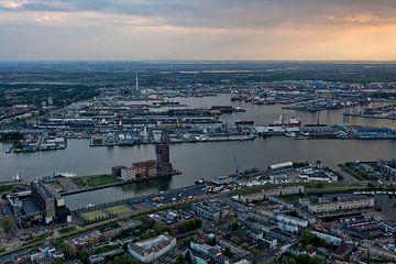 De haven van Rotterdam von Roy Poots