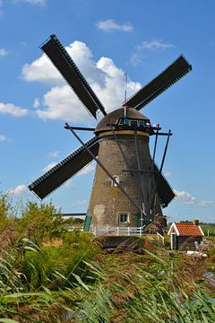 Mühle Nr. 7 Nederwaard Kinderdijk von Rob Pols