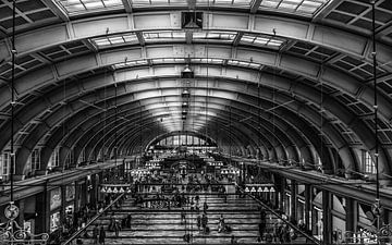 Stockholm Centraal Station van Friedhelm Peters