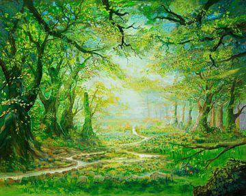 Waldwasserweg von Silvian Sternhagel