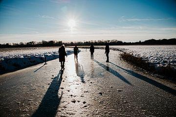 Winterwonderland van Daphne Hoedjes