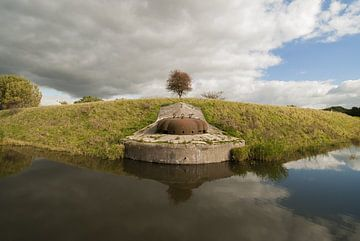 Fort bei Hoofddorp - Verteidigungslinie von Amsterdam von Sander Jacobs