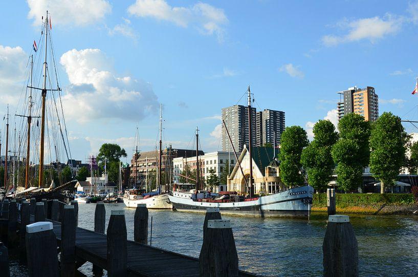 Veerhaven Rotterdam van Marcel van Duinen
