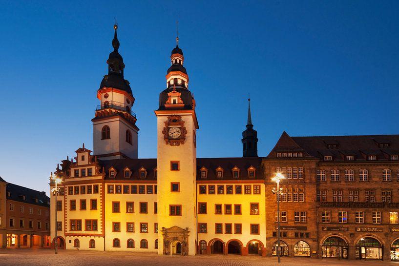 Old Guildhall, Chemnitz van Gunter Kirsch