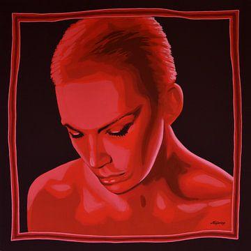 Annie Lennox of Eurythmics schilderij sur Paul Meijering