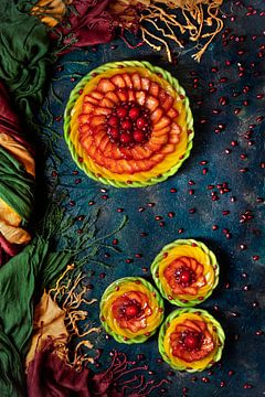 Tarte de fruits colorée, Denisa VLAICU sur 1x