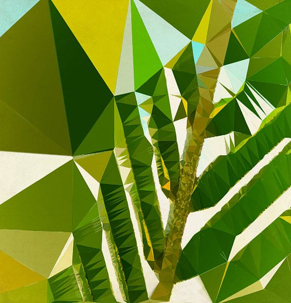 Onder Palmbomen van Kay Weber