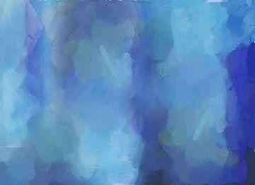 Abstrakt - Schatten unter Wasser von Schildersatelier van der Ven