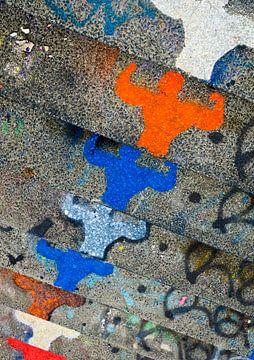 Grafitti 'Power' von Greetje van Son