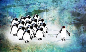 Be different pinguins van