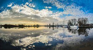 Panorama Vecht Sunrise - Weesp in Beeld