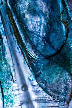 Blauwe vleugels (2) van Nanda Bussers