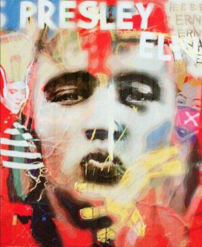 Elvis Presley Plakativ Dadaismus PUR  von Felix von Altersheim