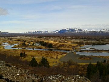 Pingvellir, IJsland von Jurrina Smit-Brink