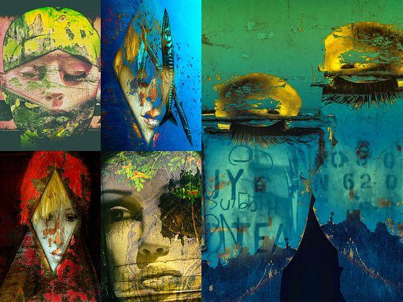 Five faces van Gabi Hampe