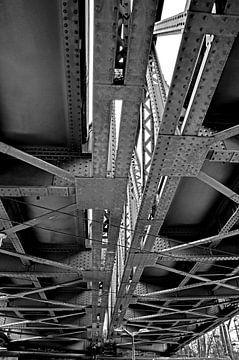 oude spoorweg brug van Wolf-Dieter Werner
