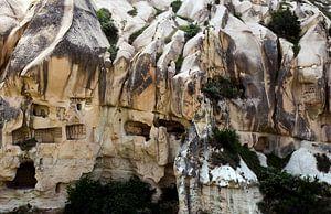 Rotsformaties in Cappadocië van