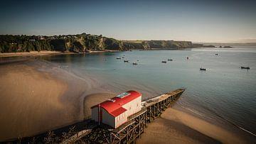 Haven van Tenby (Wales) van Harald Meert