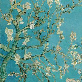 Amandelbloesem (staand) - Vincent van Gogh van Marieke de Koning