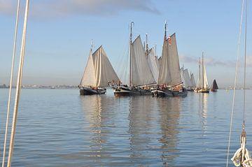 Le silence du vent pour les bateaux plats sur Mirjam Visscher