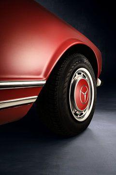 Mercedes-Benz 280 SL Pagode W113 1968 Wheel detail van Thomas Boudewijn