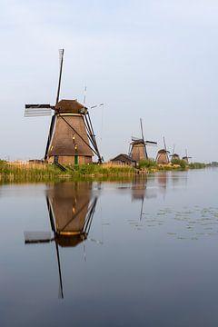 Windmühlen in Kinderdijk von Jeroen Kleiberg