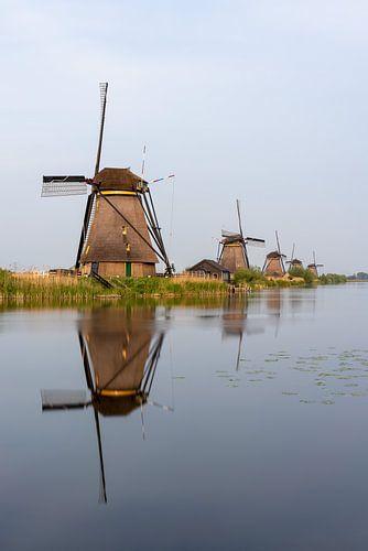 Windmolens in Kinderdijk