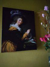 Kundenfoto: Comtesse de Cérès (Dame, die einen Brief faltet), Élisabeth Vigée-Le Brun, auf leinwand