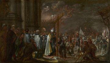 Die Erhöhung des Kreuzes, Juan de Valdés Leal
