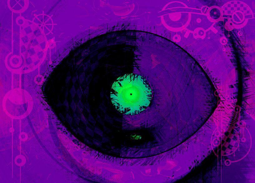 Green Eye von Rosi Lorz
