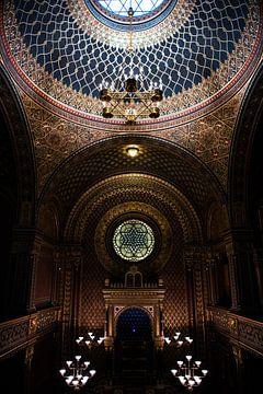 Joodse Synagoge Praag van Kelvin Middelink
