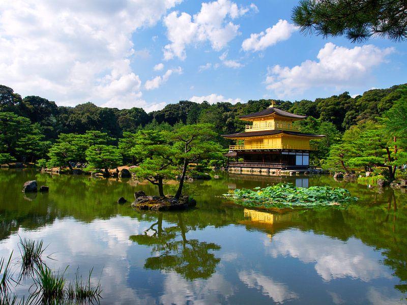 Gouden Tempel Japan van Menno Boermans