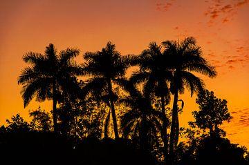 Ein schöner kubanischer Sonnenuntergang von Andreas Jansen