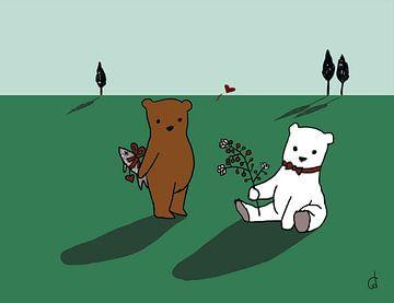 Verliebte Bären von Cato Duys
