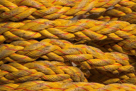 Scheepstouw geel
