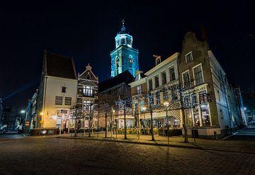 Deventer in de Avond von Jeffrey Van Zandbeek