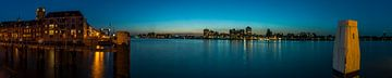 Panorama von Merwede te Dordrecht von Daan Kloeg