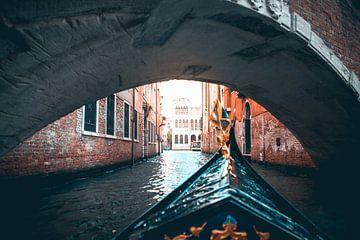 Die Straßen von Venedig von Leon Weggelaar