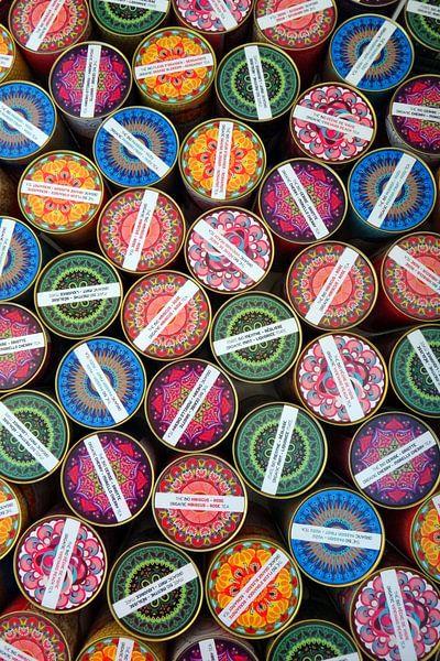 Kunstig kleurrijk geheel van R. de Jong