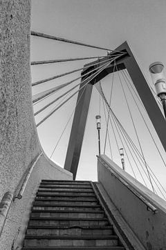 Treppe zur Willemsbrug. von Pictures Palumbo