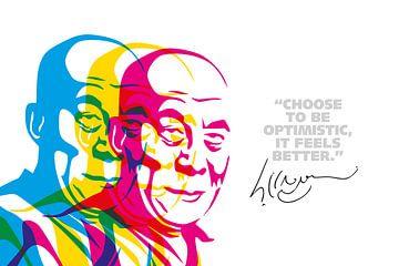 Dalai Lama Zitat von Harry Hadders