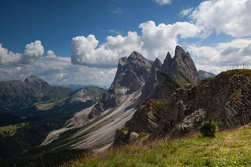 Seceda - Dolomiten von