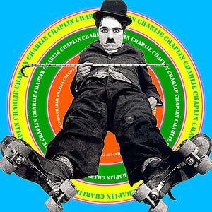 Charlie Chaplin Blue