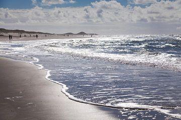 Het strand van Petten von Willy Sybesma