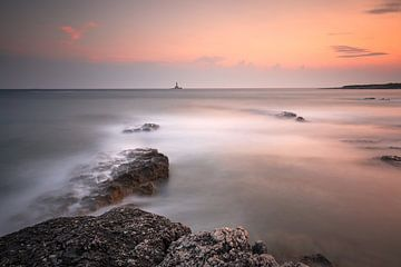 Sonnenuntergang Premantura Kroatien/Sonnenuntergang von Silvia Thiel